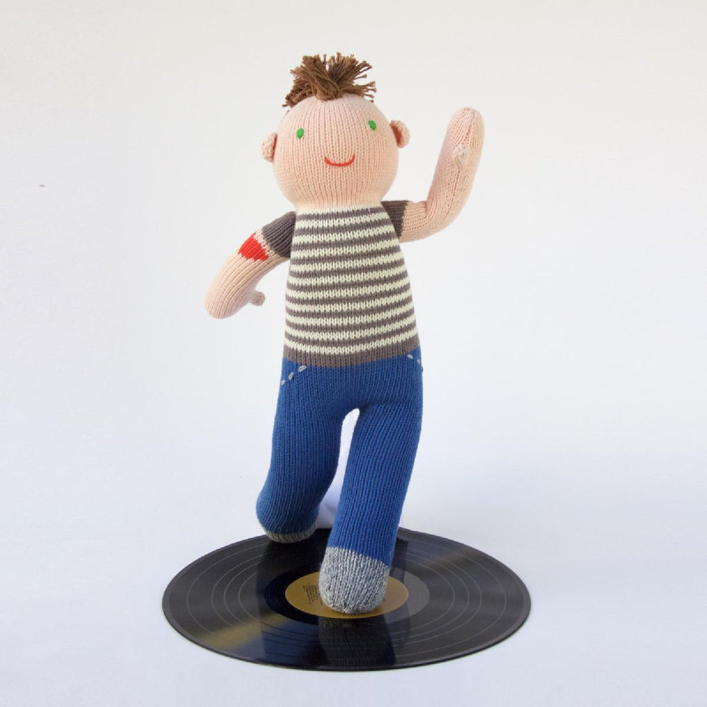"Blabla | ""Otto"" kids cotton doll - play"
