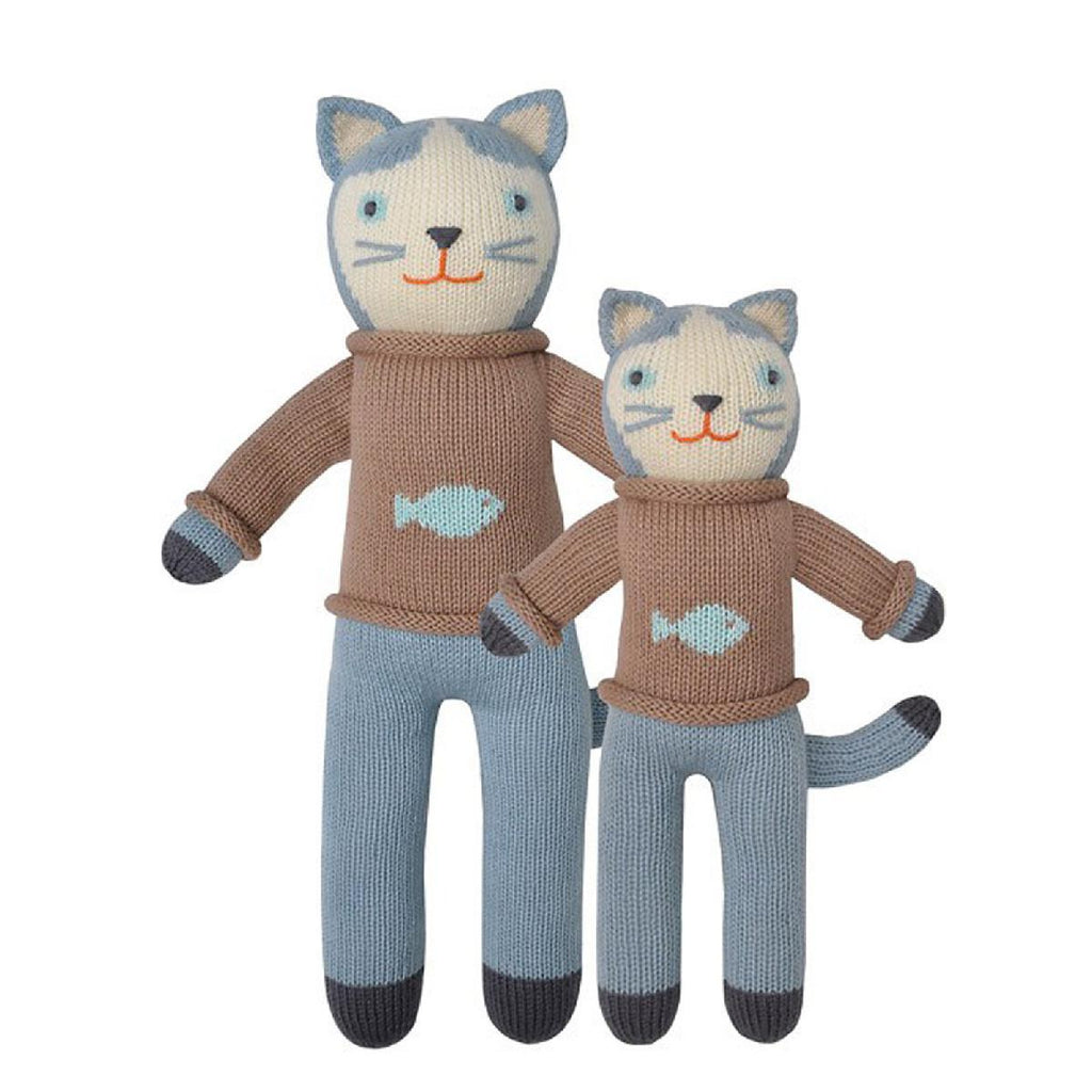 "Blabla | ""Sardine"" kids cotton doll"