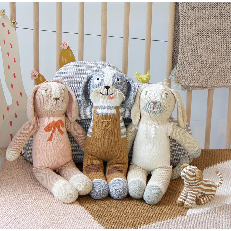 "Blabla | ""Toutou"" kids cotton doll - with friends"