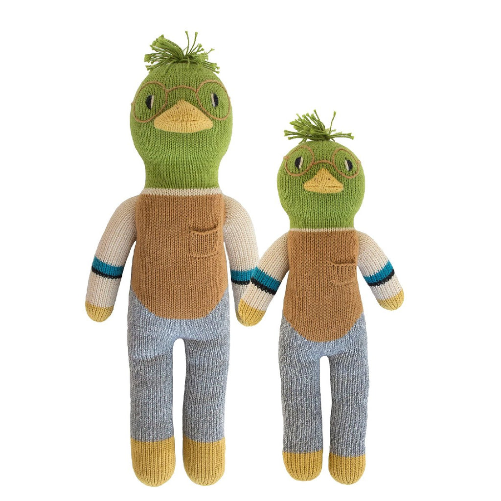 "Blabla | ""Webster the Duck"" kids cotton doll"