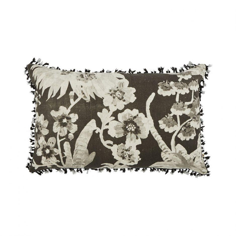 Bonnie and Neil | banksia cushion | black,gold