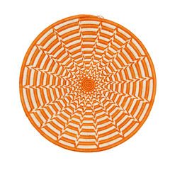 Couani Punda woven bowl medium burnt orange -  - mondocherry - home : style : design
