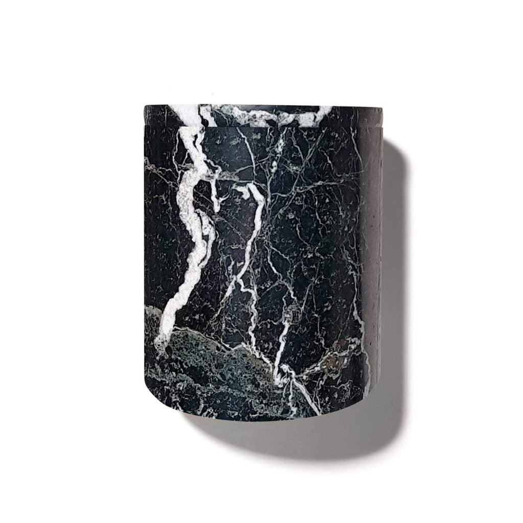 candle - Luxuriate | candle holder | black marble - mondocherry