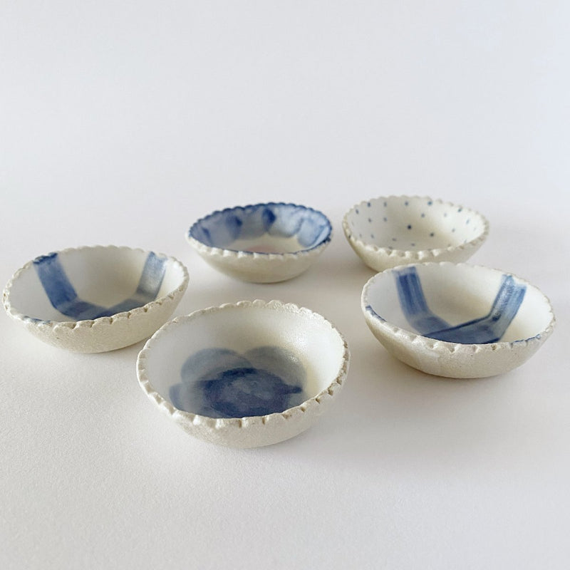 Clay Beehive | scalloped handmade ceramic bowls