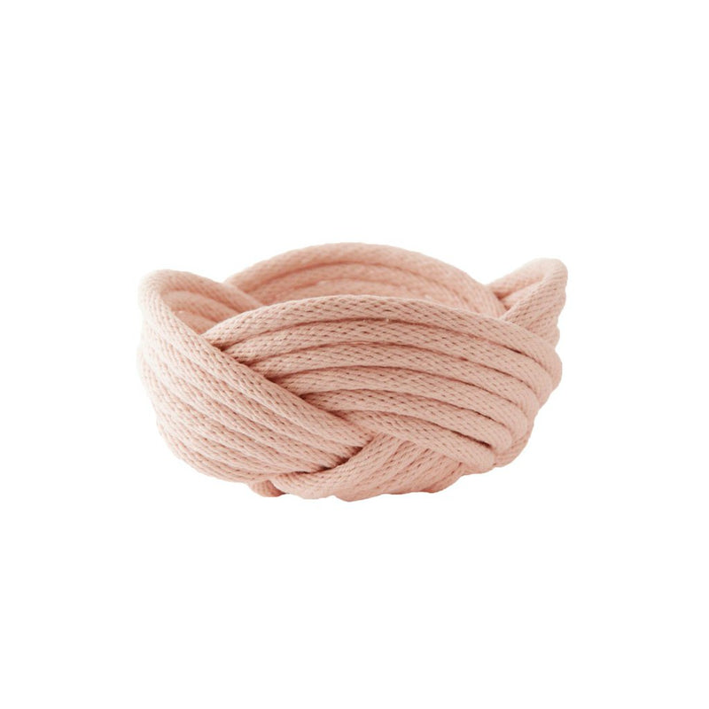Crayon Chick | weave bowl | barely blush | medium