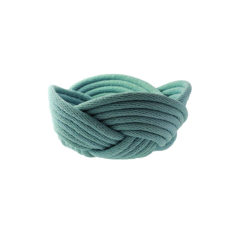 Crayon Chick | weave bowl | ocean | small