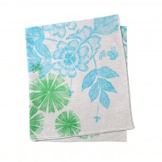 Bonnie and Neil tablecloth - summer floral green