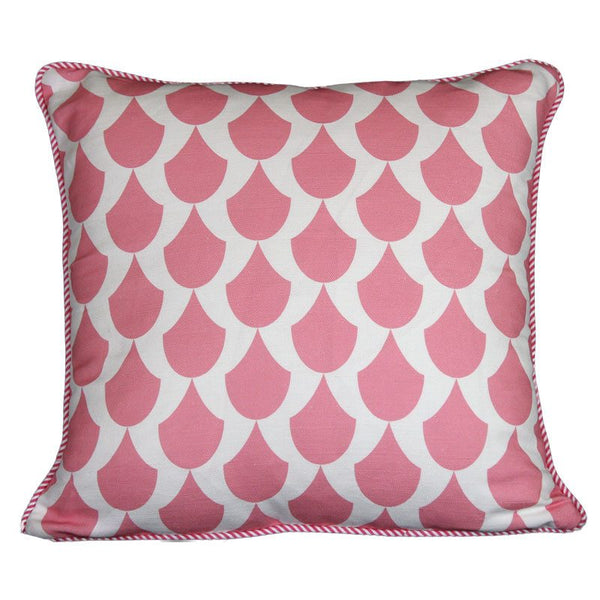 """singing in the rain"" cushion in pink - cushion - mondocherry - home : style : design"