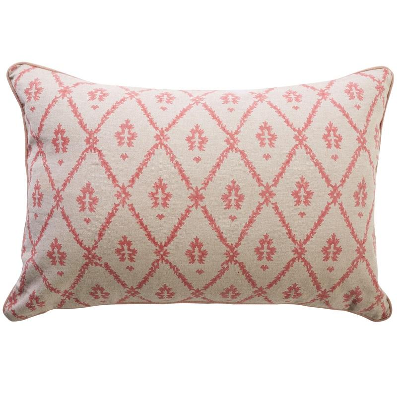 Canvas and Sasson | flora peony cushion
