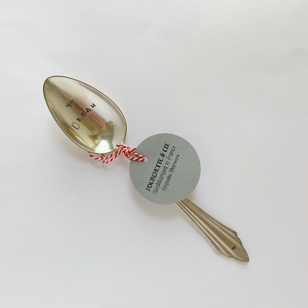 "antique silverware large spoon | ""dream"""