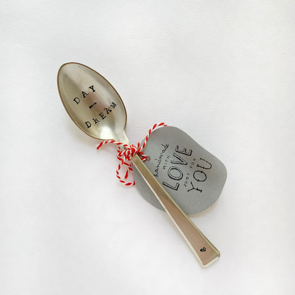 "antique silverware teaspoon | ""day dream"" - fc164"