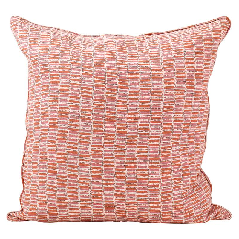 cushion - Walter G | thebes cushion | guava - mondocherry