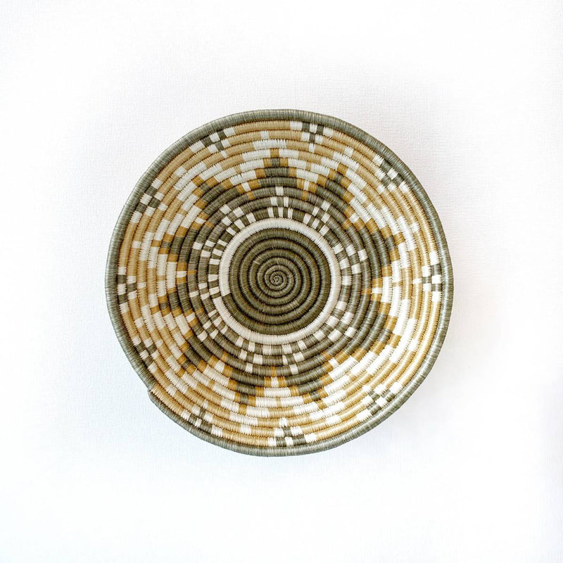 """Usiku"" woven bowl #1 