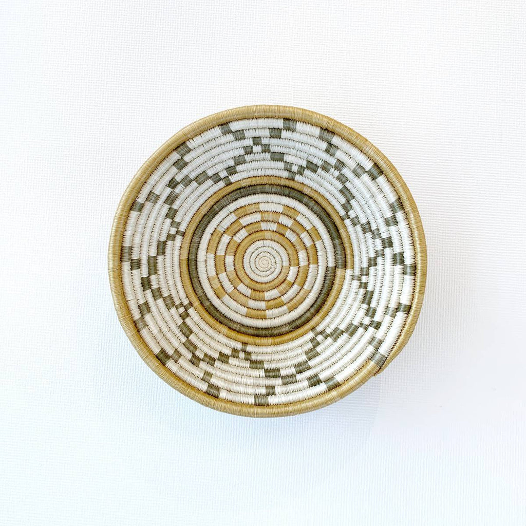 """Hope"" African woven bowl #2 