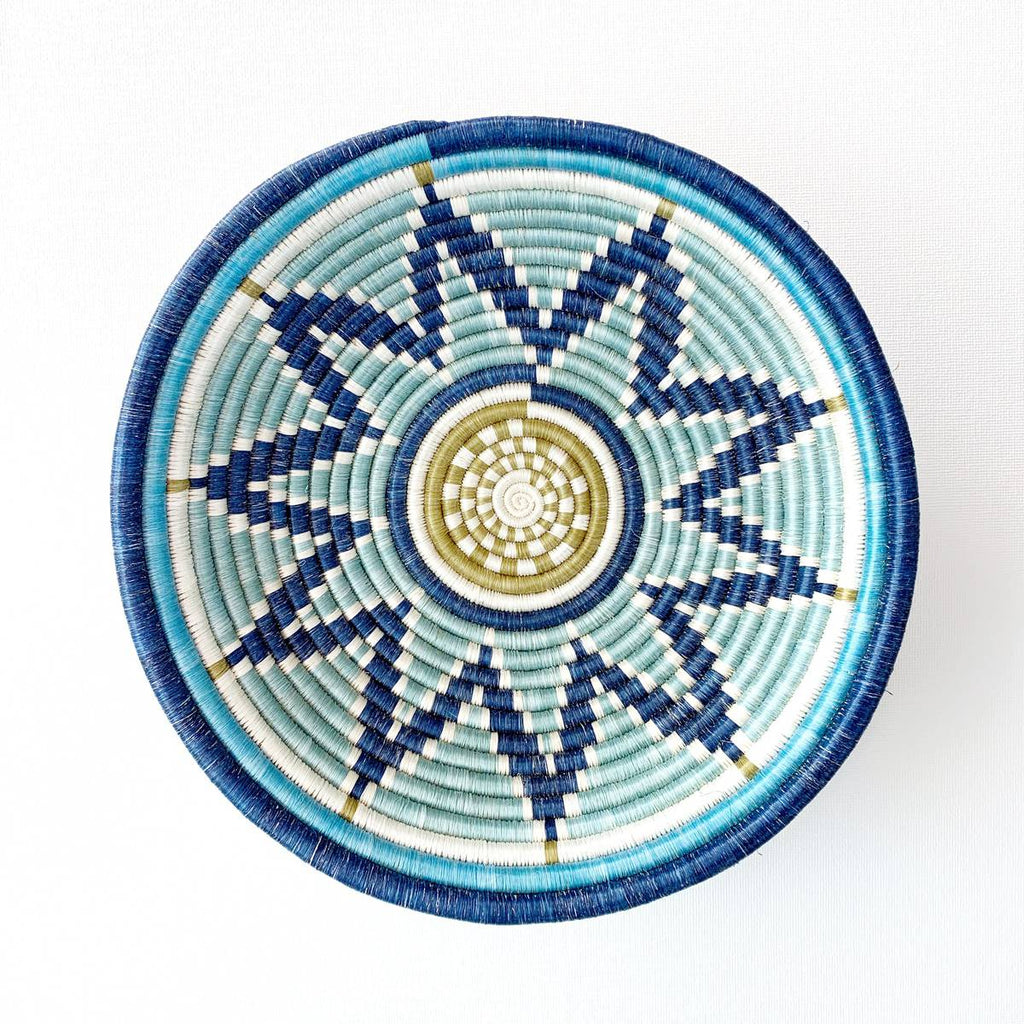 """Hope"" African woven bowl 2 