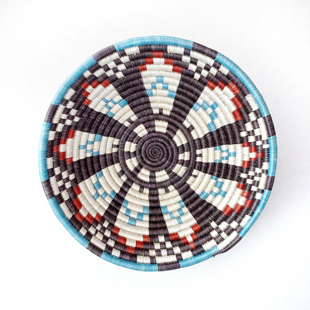 """Hope"" African woven bowl 1 