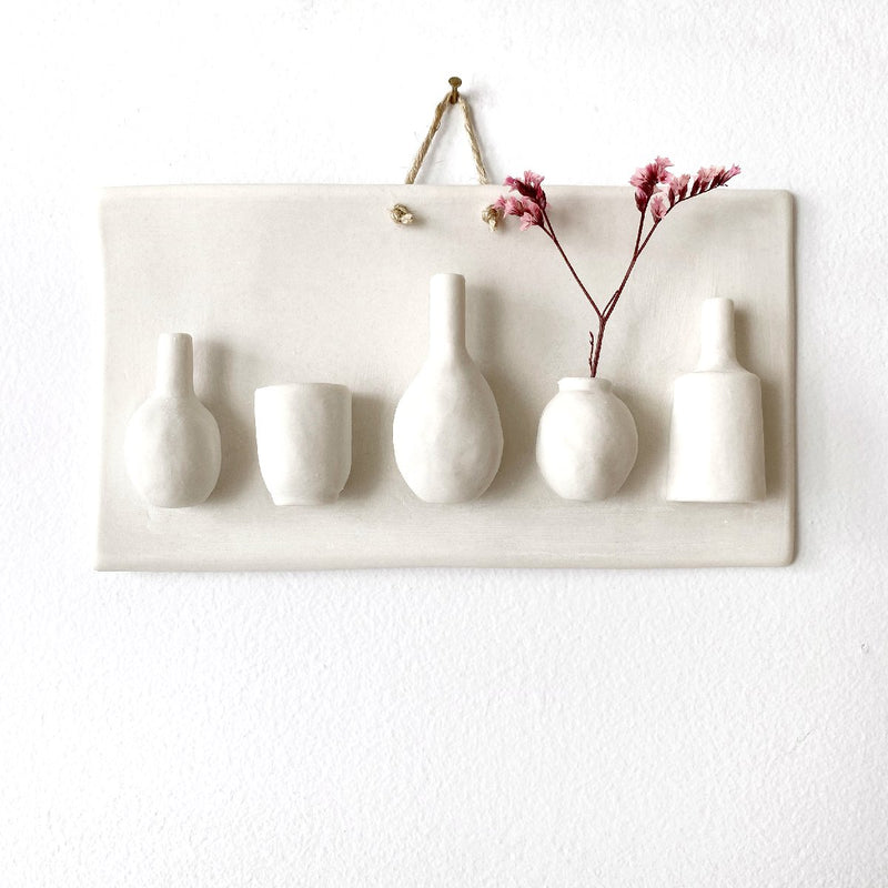 illys wall #1 | 7 vases in frame