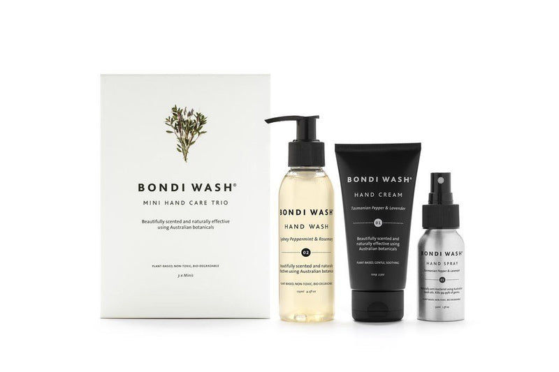 - Bondi Wash mini hand care trio - mondocherry