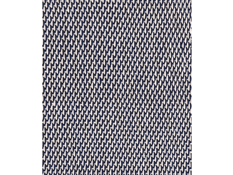 Dash and Albert indoor/outdoor rug Two-Tone Rope Navy/Ivory 60 x91 cm-Rug-Dash & Albert-mondocherry
