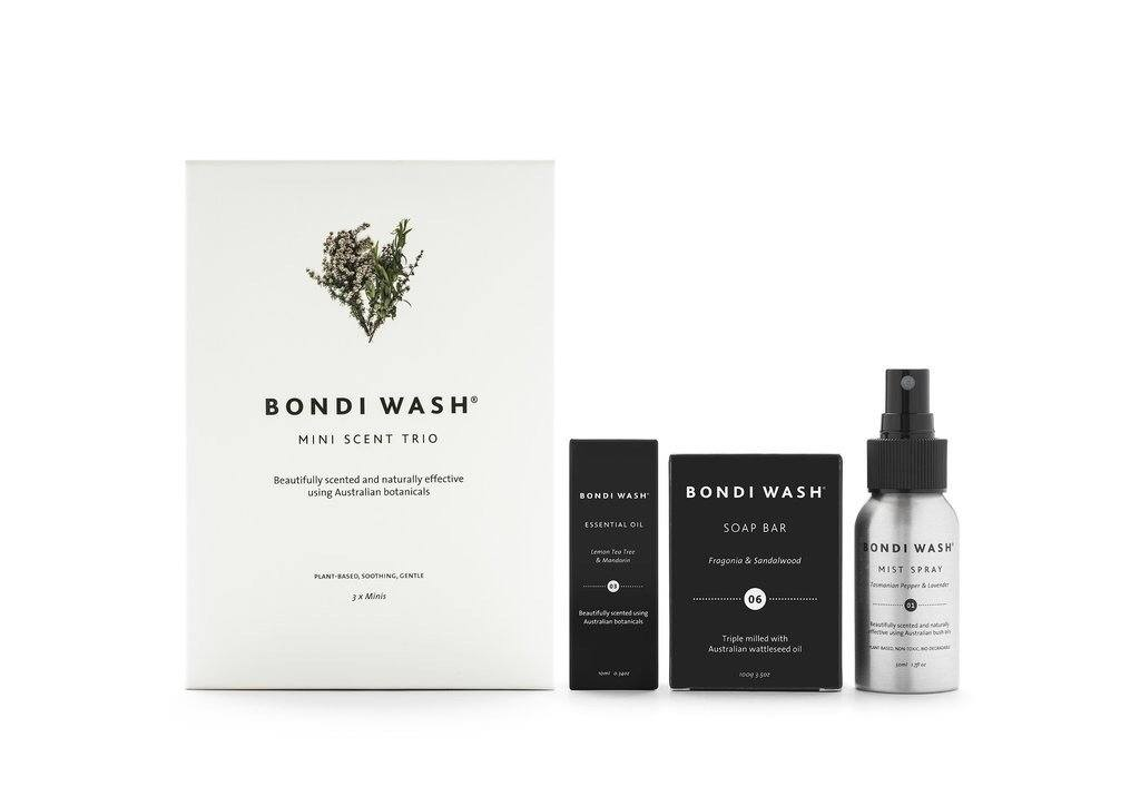 personal - Bondi Wash | mini scent trio - mondocherry
