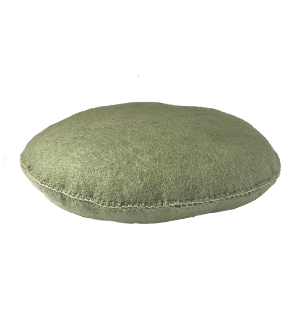 mondocherry homewares - Muskhane smartie cushion (vert tender)