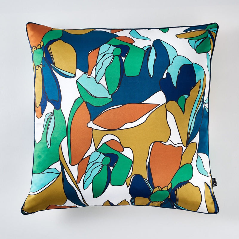 cushion - KCCM | floral monica cushion | green - mondocherry