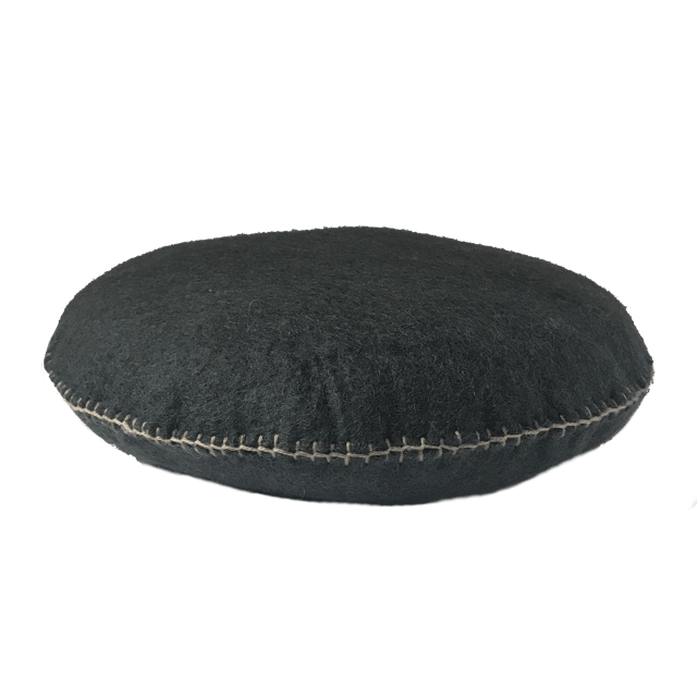 Muskhane smartie cushion (gris orage)-cushion-muskhane-mondocherry