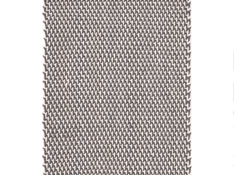 Dash and Albert indoor/outdoor rug Two-Tone Rope Graphite/Ivory 60x91 cm-Rug-Dash & Albert-mondocherry