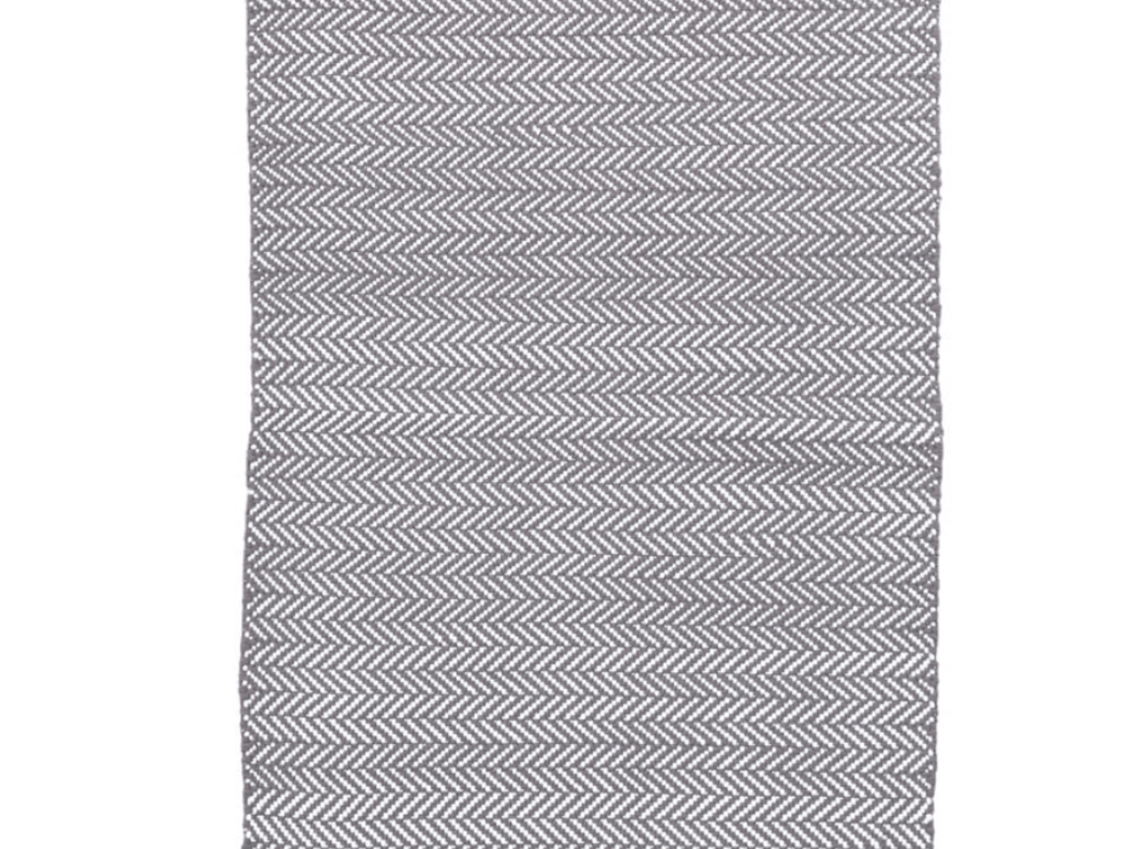 Dash and Albert indoor/outdoor rug Herringbone Shale 60x91 cm-Rug-Dash & Albert-mondocherry