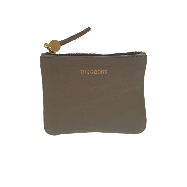 purse - The Goods | mini leather clutch | latte - mondocherry