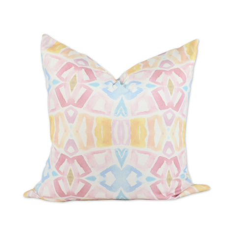 Numero74 sparkling tulle/cotton star cushion small (dusty pink)