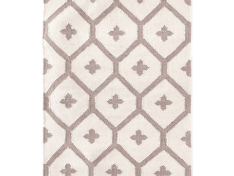 Dash and Albert indoor/outdoor rug Elizabeth Sand 60x91 cm-Rug-Dash & Albert-mondocherry