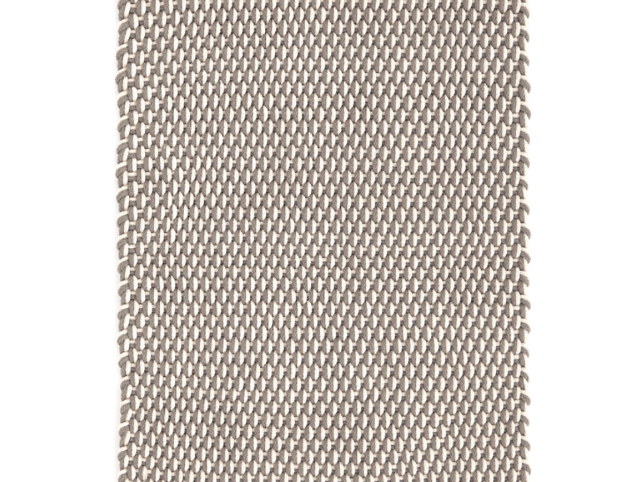 Dash And Albert Indoor/outdoor Rug Two Tone Rope Fieldstone/Ivory 60x91 Cm