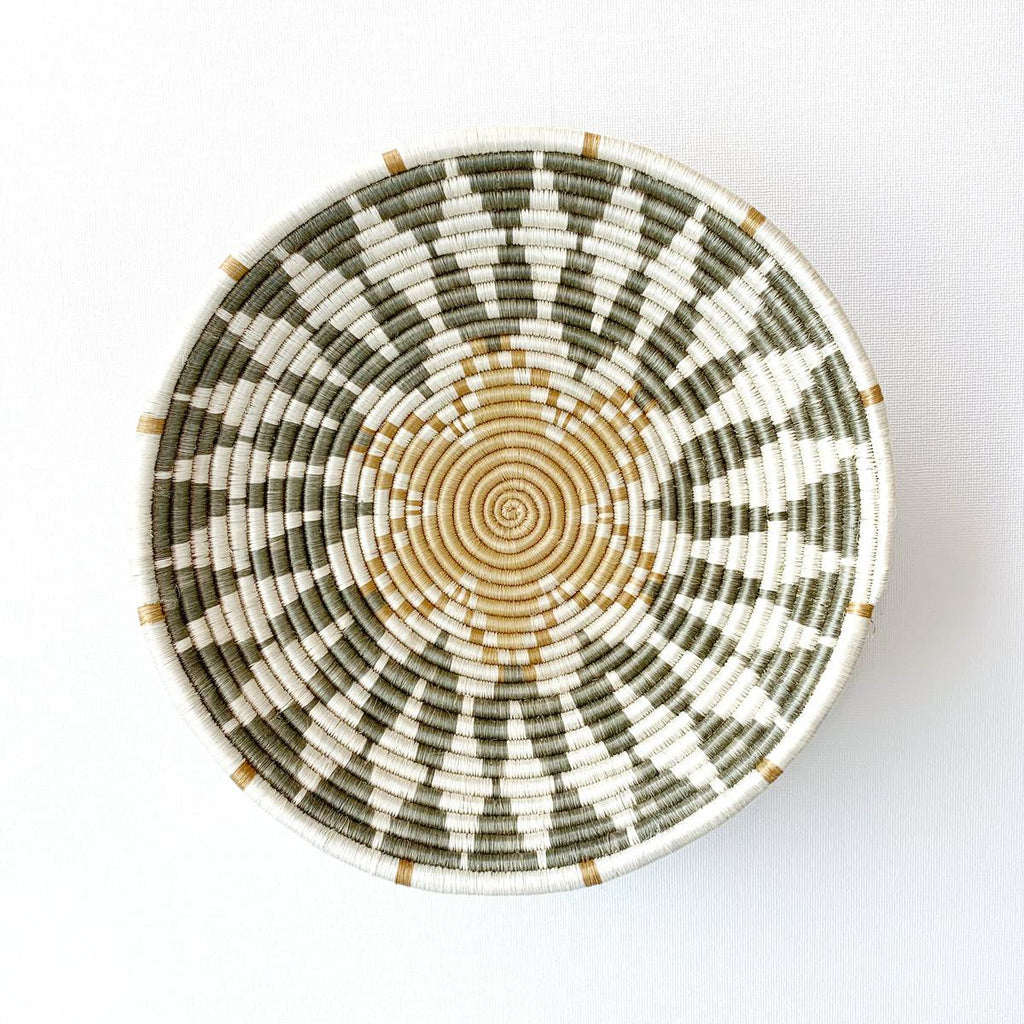 """Intore"" African woven bowl #1 
