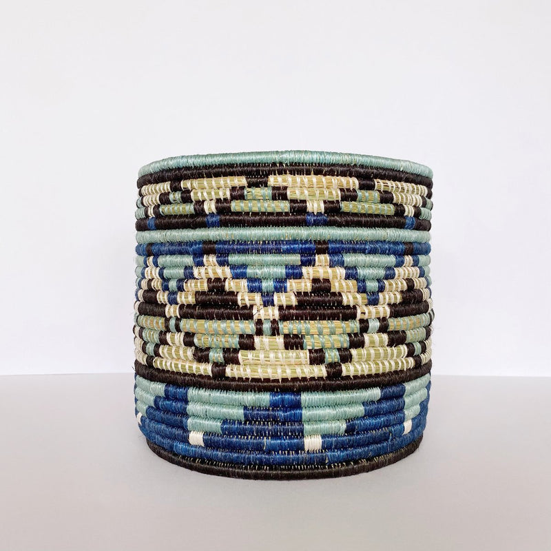 "African woven vase ""Kati"" 