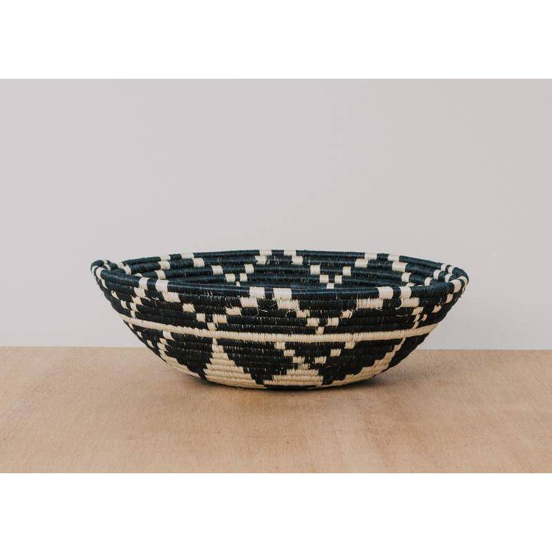 """Kwizera"" African woven bowl #1 