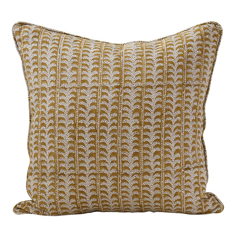 cushion - Walter G | luxor cushion | saffron - mondocherry