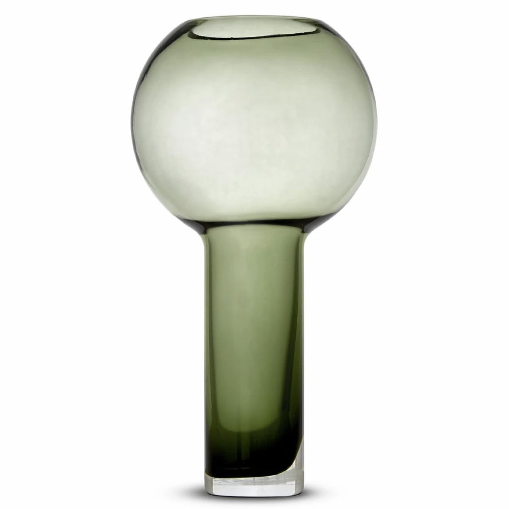 Marmoset Found | glass vase | green | large