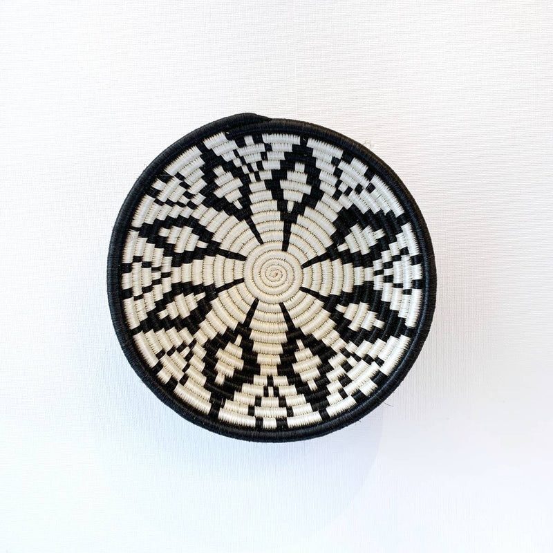 """Maua"" African woven bowl #1 