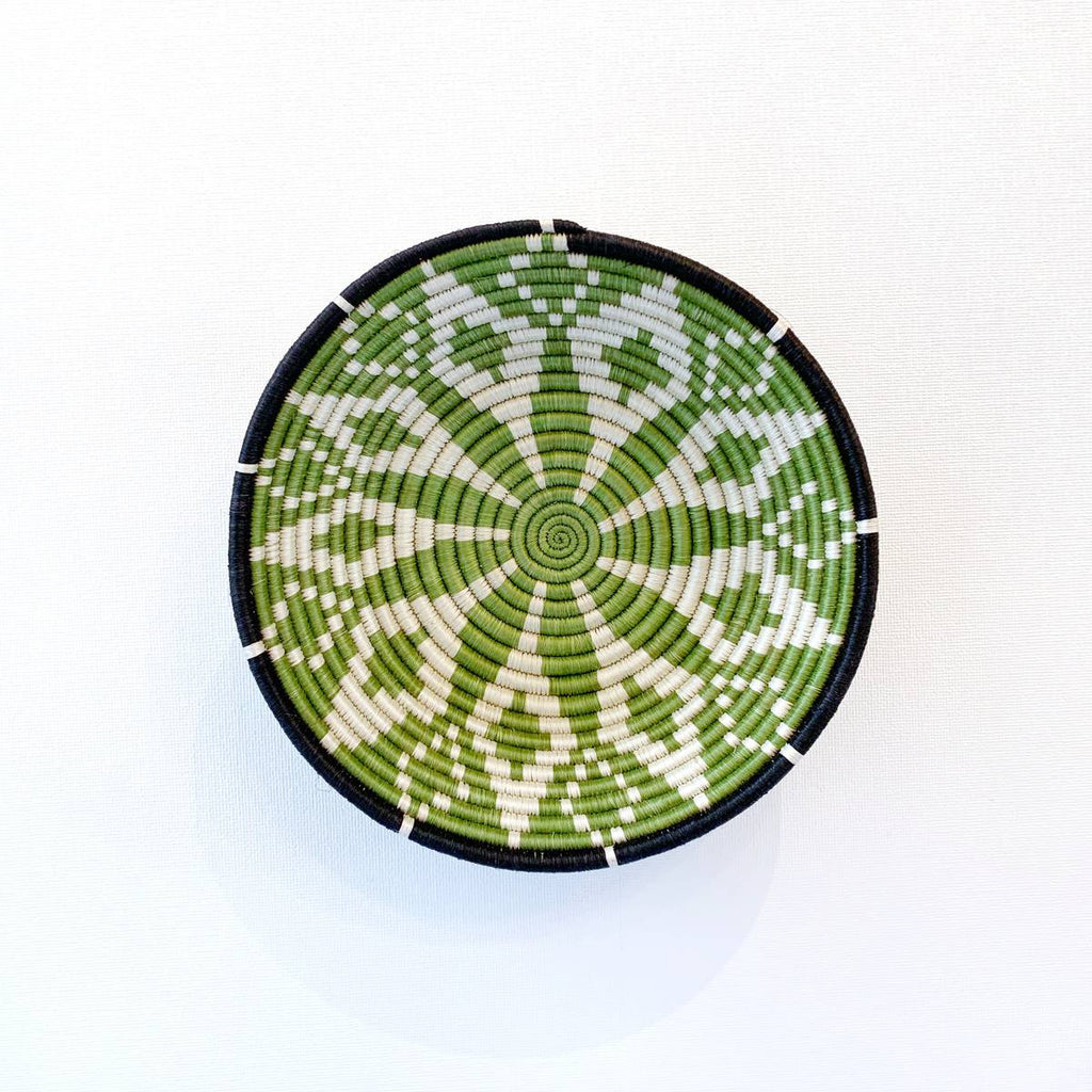 """Maua"" African woven bowl #2 