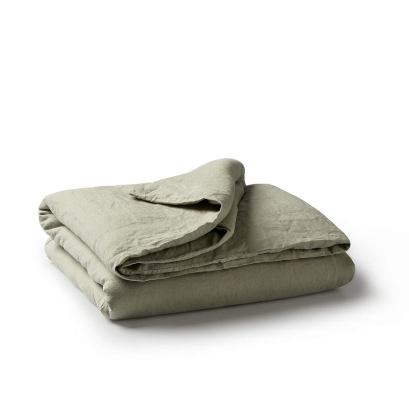 Minimrkt | king duvet cover | putty