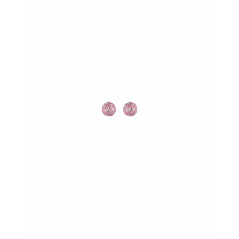 Moe Moe | mini circle stud earrings | dreaming