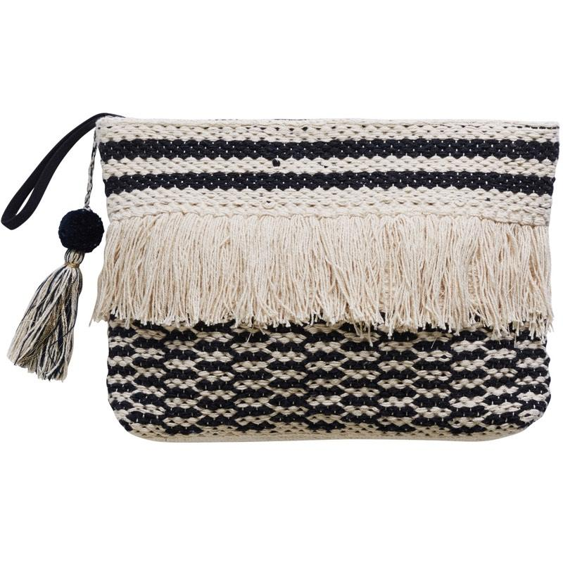 Canvas and Sasson | pomme clutch | aerin