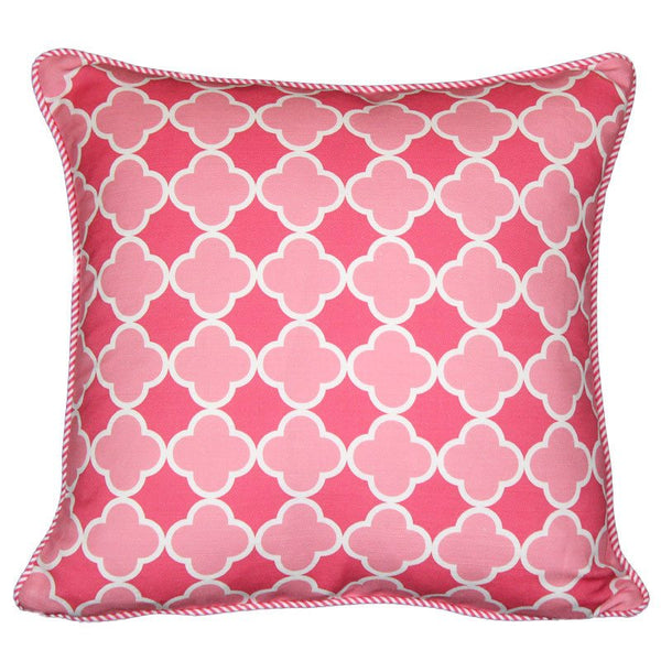 """moroccan"" cushion in pink - cushion - mondocherry - home : style : design"