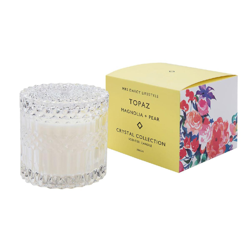 Mrs Darcy candles - topaz magnolia and pear