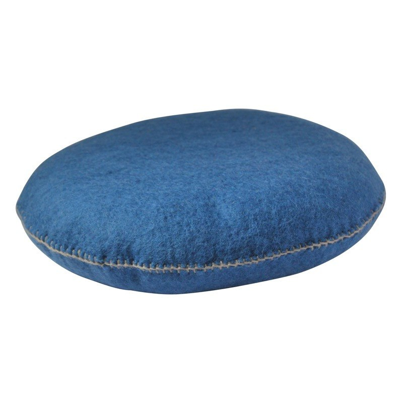 Muskhane smartie cushion (blue n'14) - cushion - mondocherry - home : style : design - 1