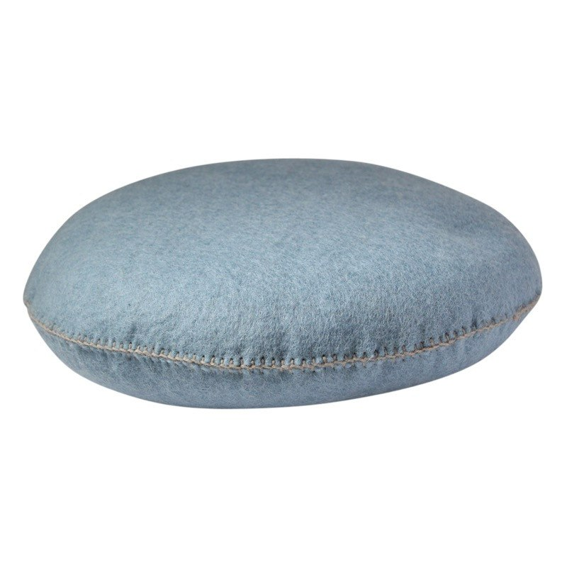 Muskhane smartie cushion (blue n'48) - cushion - mondocherry - home : style : design - 1