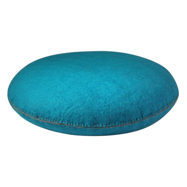 Muskhane smartie cushion (turqouise) - cushion - mondocherry - home : style : design - 1
