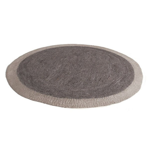 Muskhane Circle Rug Grey -  - mondocherry - home : style : design - 1