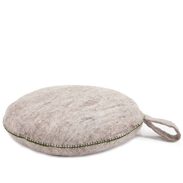 Muskhane nomad smartie cushion - light stone